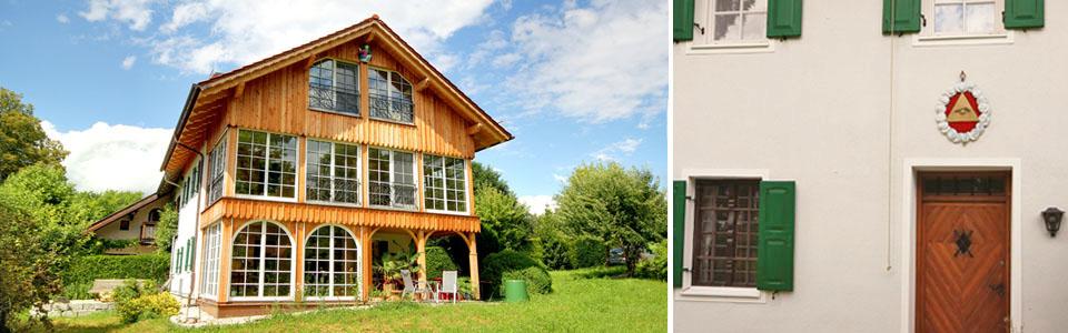Erweiterung historische Doppelhaushälfte Münsing