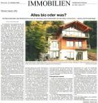 SZ-Artikel Ökohaus Steinebach vom 12.10.2005