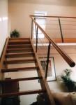 Zugang zur neuen zweiten Dachebene mit einer leichten Treppe