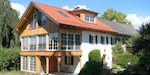 Sanierung und Erweiterung historische Doppelhaushälfte in Münsing am Starnberger See