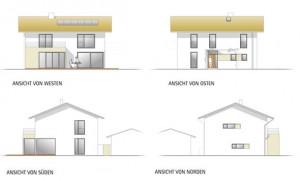 Neubau eines Einfamilienhauses in Faistenhaar bei Brunnthal