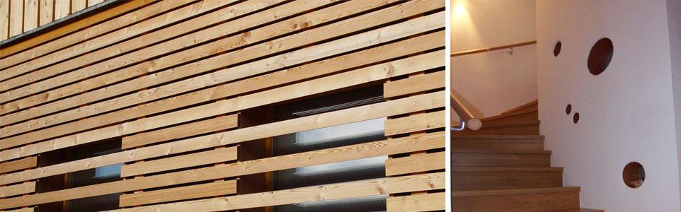 Holzschalung, Aufzugschacht