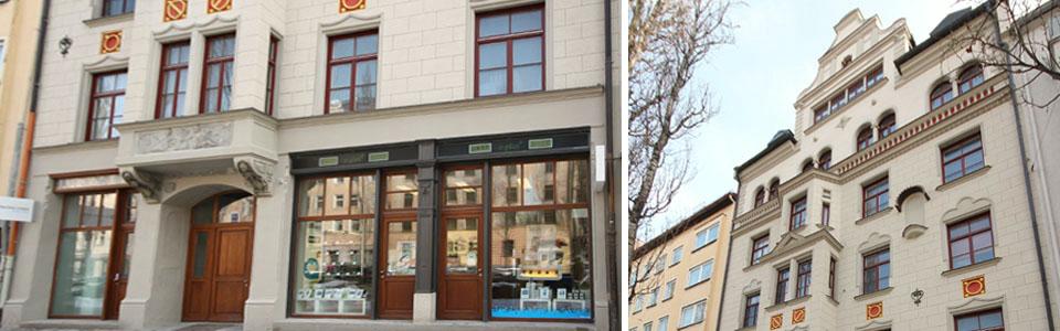 Sanierung denkmalgeschützes Mehrfamilienhaus in München-Sendling