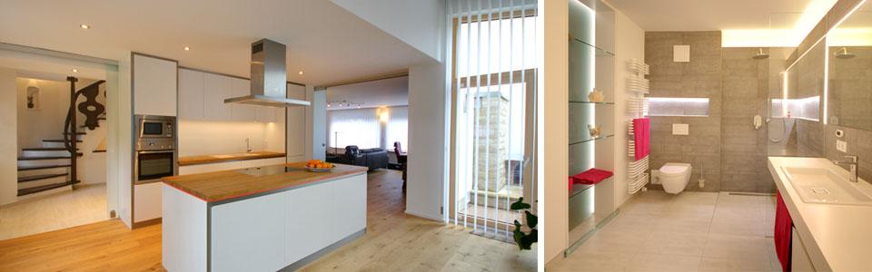 Küche und Bad nach Umbau