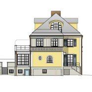 Umbau und Erweiterung historische Doppelhaushälfte in München-Harlaching